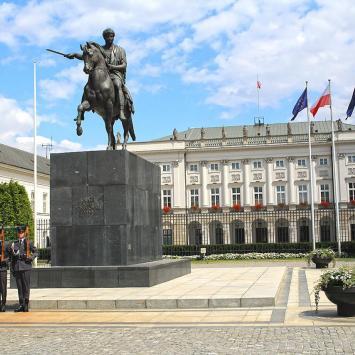 Pałac Prezydencki w Warszawie, Anna Piernikarczyk