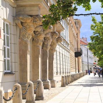 Pałac Tyszkiewiczów, Anna Piernikarczyk