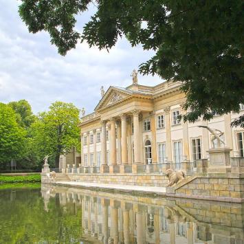 Łazienki Królewskie w Warszawie - zdjęcie