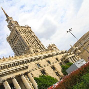 Pałac Kultury i Nauki w Warszawie - zdjęcie