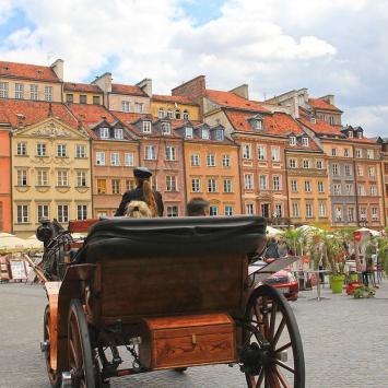 Rynek w Warszawie - zdjęcie