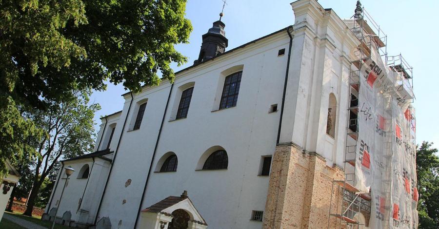 Kościół w Boćkach - zdjęcie