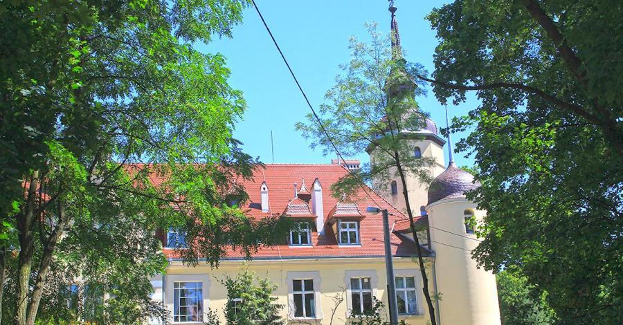 Pałac w Borzęciczkach - zdjęcie