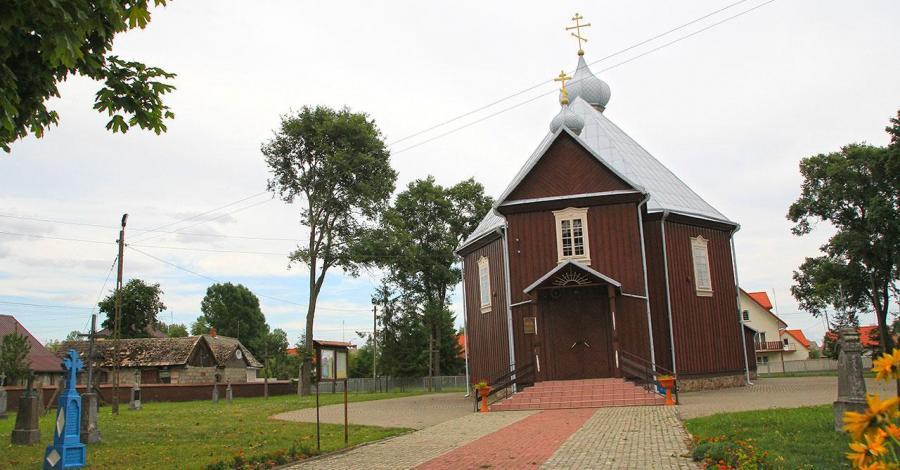 Cerkiew w Orli - zdjęcie
