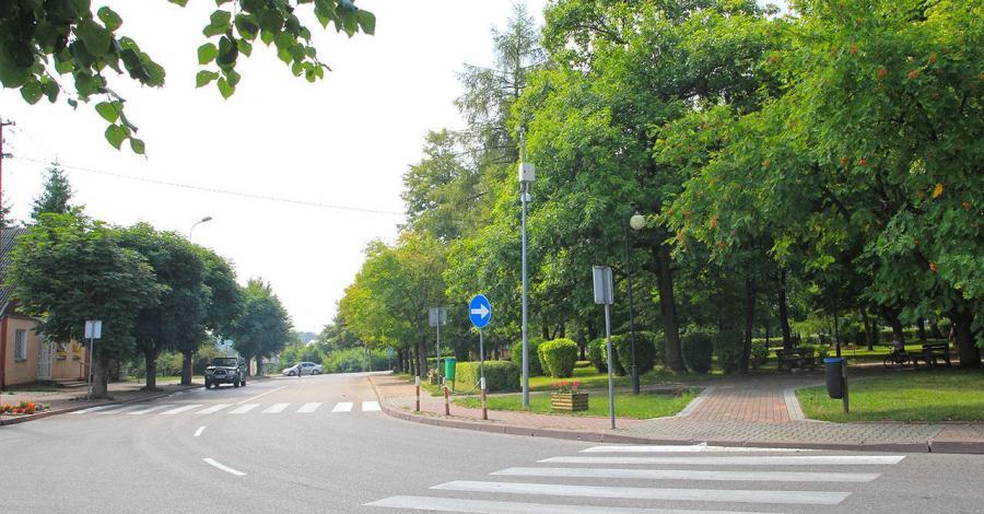 Unikatowe rondo w Krynkach - zdjęcie