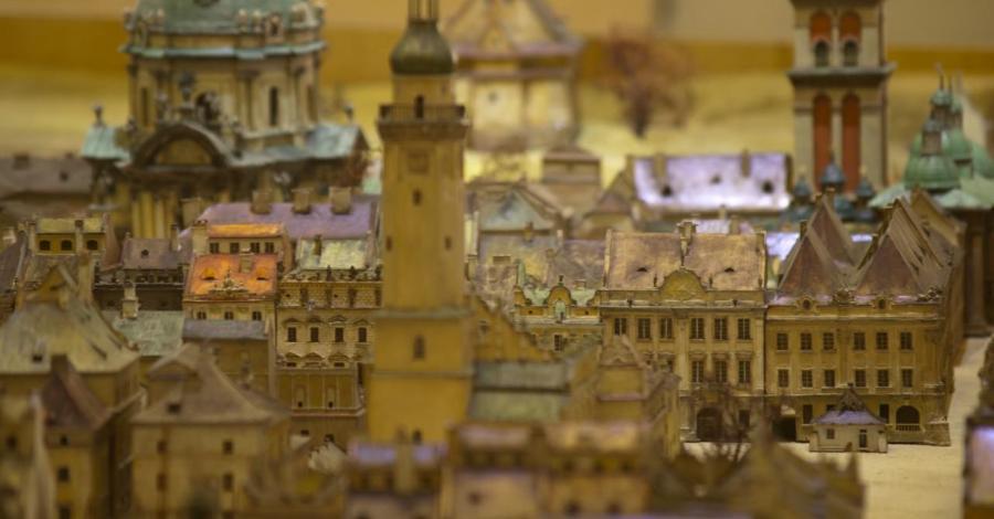 Panorama Dawnego Lwowa we Wrocławiu - zdjęcie