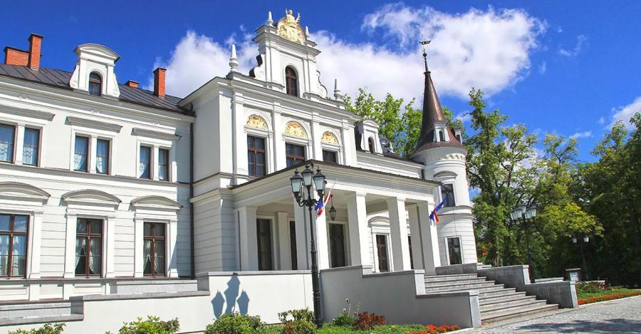 Pałac w Tarcach - zdjęcie