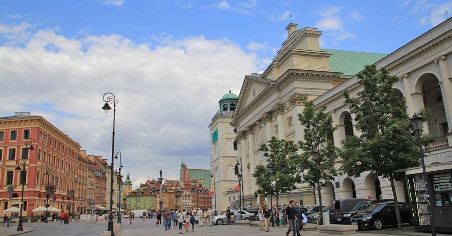Krakowskie Przedmieście w Warszawie - zdjęcie