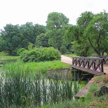 Park w Gołuchowie - zdjęcie