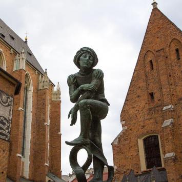 Plac Mariacki w Krakowie