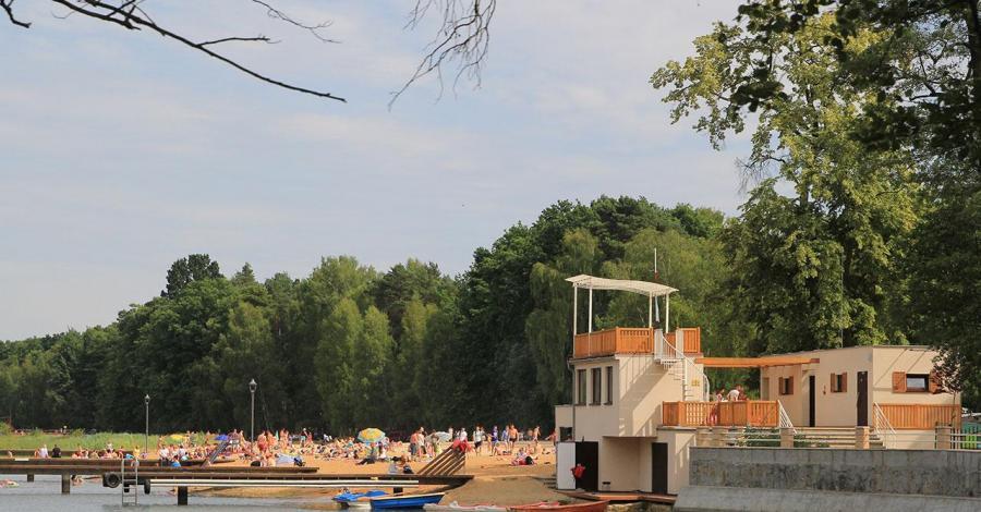 Jezioro Szperek w Antoninie - zdjęcie