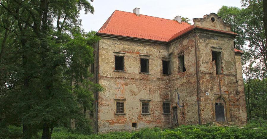 Dwór w Graboszycach - zdjęcie