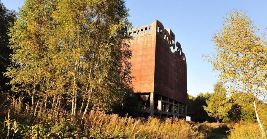 Ruiny Fabryki w Policach - zdjęcie