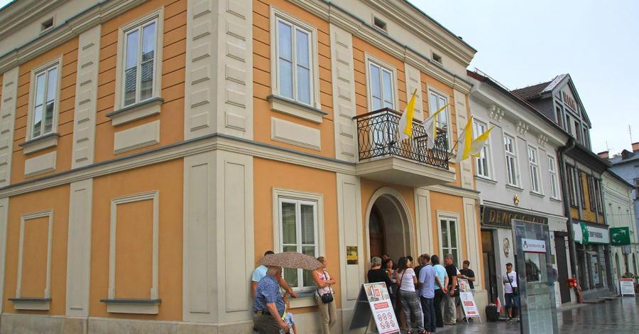 Dom Jana Pawła II w Wadowicach - zdjęcie