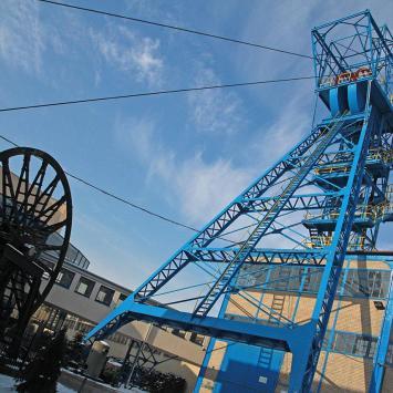 Wieża wyciągowa w Zabrzu