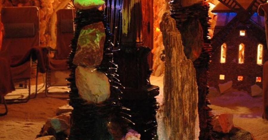 Grota solna w Kołobrzegu - zdjęcie
