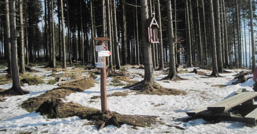 Mraźnica w Beskidzie Śląskim - zdjęcie