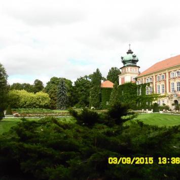 Zamek w Łańcucie. - zdjęcie