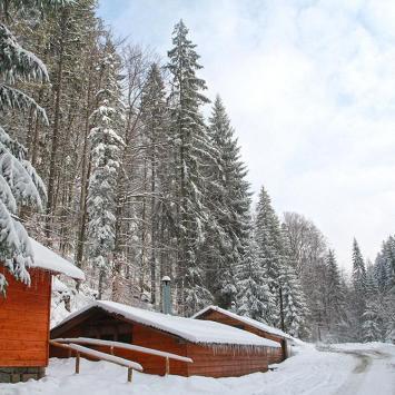zasypana śniegiem Dolina Białej Wisełki, Anna Piernikarczyk