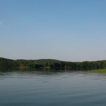 Jezioro Pluszne na Warmii - zdjęcie