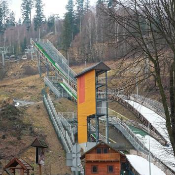 Skocznie narciarskie w Wiśle Centrum