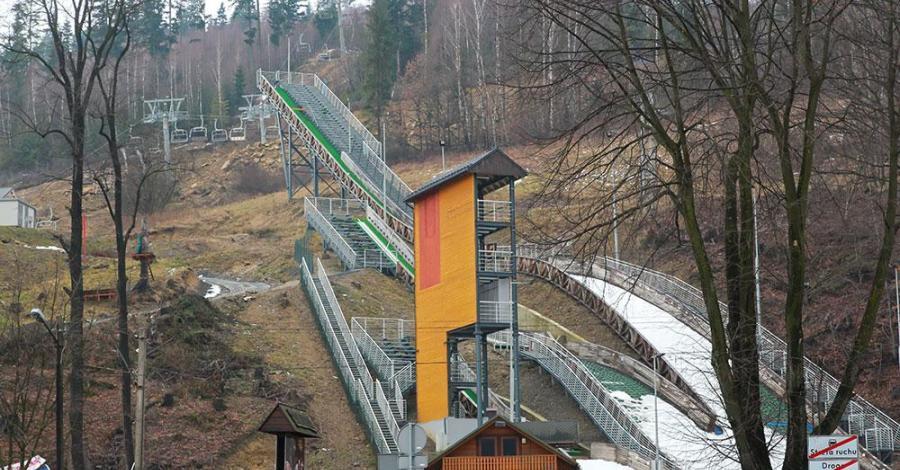 Skocznie narciarskie w Wiśle Centrum - zdjęcie