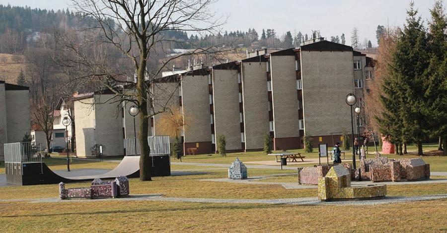 Zabytkowy Park Przygód w Wiśle - zdjęcie