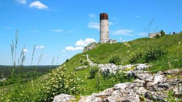 Olsztyn - zamek, Góry Towarne i Jurajski Giewont - zdjęcie