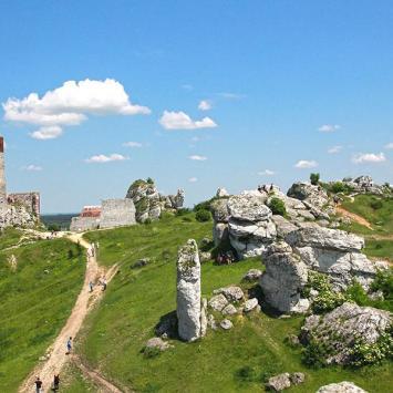 Zamek w Olsztynie - zdjęcie