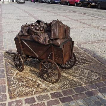 Wózek w Toruniu