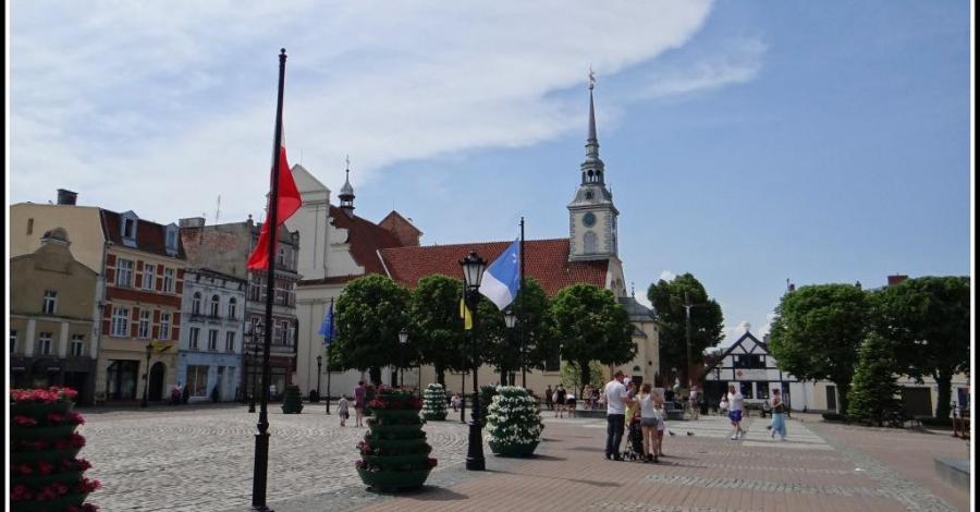 Rynek w Wejherowie - zdjęcie