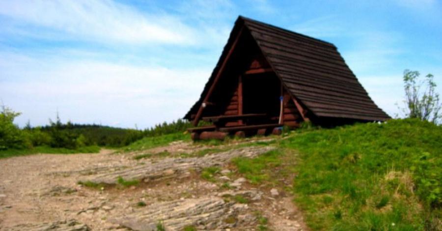 Beskid Śląski: Skrzyczne (1257mnpm); Przeł. Salmopolska (934mnpm); Kotarz (985mnmp); Przeł. Karkoszczonka (729mnpm). - zdjęcie