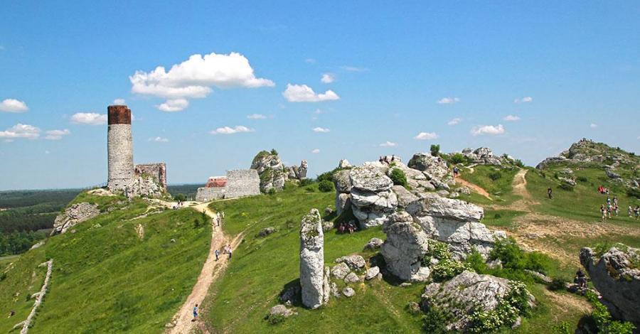 Zamek w Olsztynie, Anna Piernikarczyk