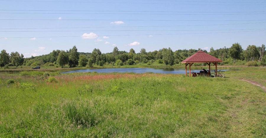 Jezioro Krasowe w Kusiętach - zdjęcie