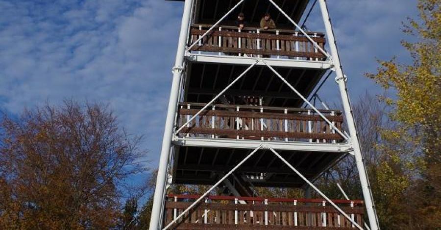 Wieża widokowa na Brzance, szamann1