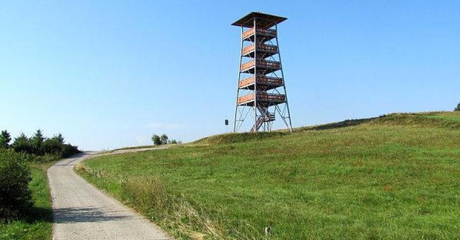 Wieża widokowa w Bruśniku, szamann1