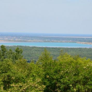 Punkt widokowy na Górze Kamieńsk