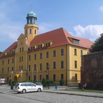 Zamek Piastowski w Wołowie - zdjęcie