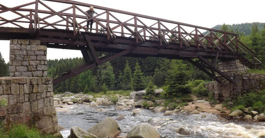 Most graniczny na Izerze - zdjęcie