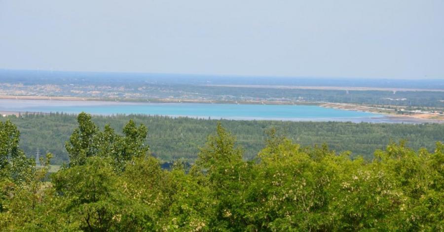 Punkt widokowy na Górze Kamieńsk - zdjęcie