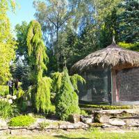 Ogród w Młodzawach Małych