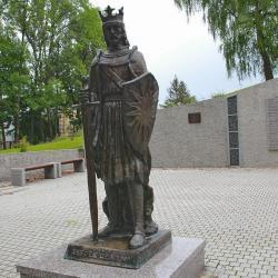 Pomnik Leszka Czarnego w Busku