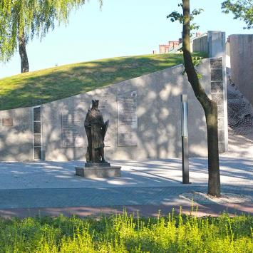 Pomnik Leszka Czarnego w Busku Zdroju