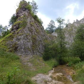 Wąwóz Homole skały, Jadwiga