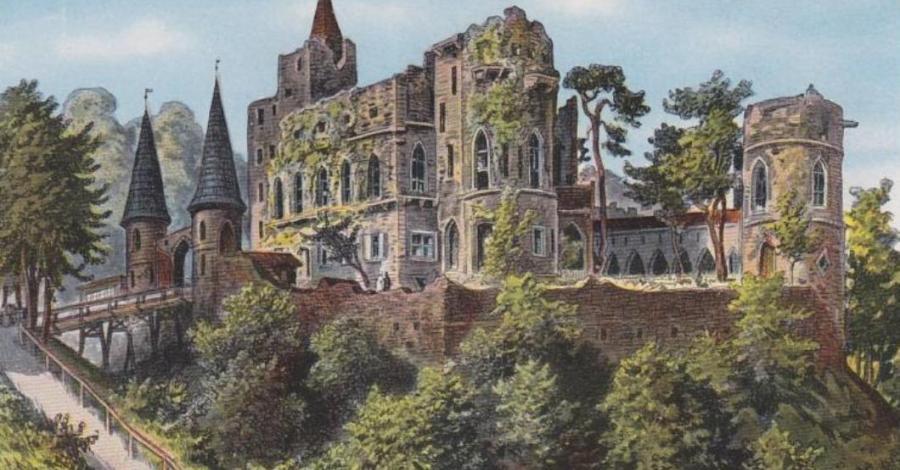 Zamek Książ - Stary Książ - zdjęcie