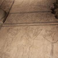 posadzka z XII wieku, tzw. Płyta Orantów
