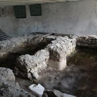 Ruiny kościoła Św. Mikołaja w pawilonie (X wiek)