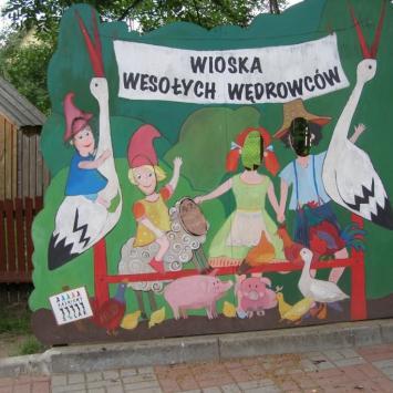 Wioska Wesołych Wędrowców w Nowej Wsi - zdjęcie
