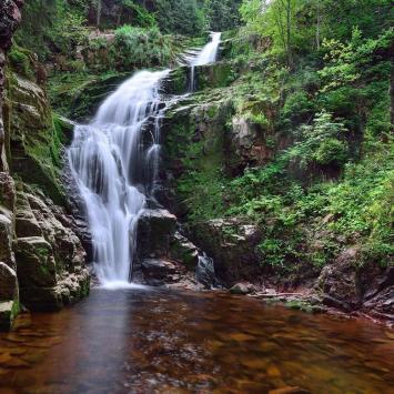 Wodospad Kamieńczyka, Gregy