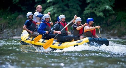 Rafting w Pieninach - wspaniała przygoda! - zdjęcie